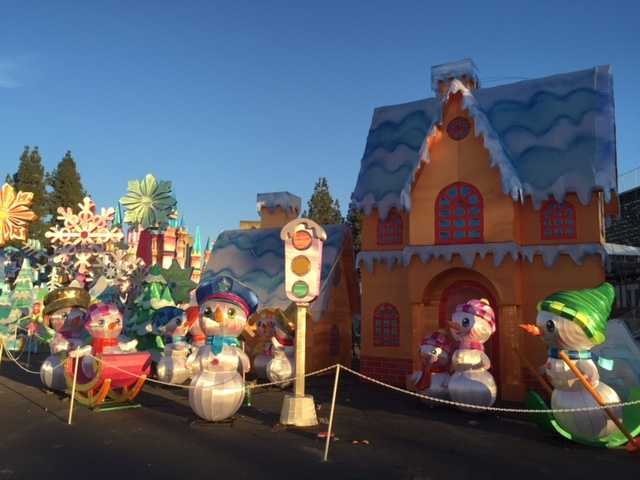 This is the second year that the holiday lantern show known as Global Winter Wonderland has come to Cal Expo. In its first year -- last year -- it drew an estimated 300,000 people.
