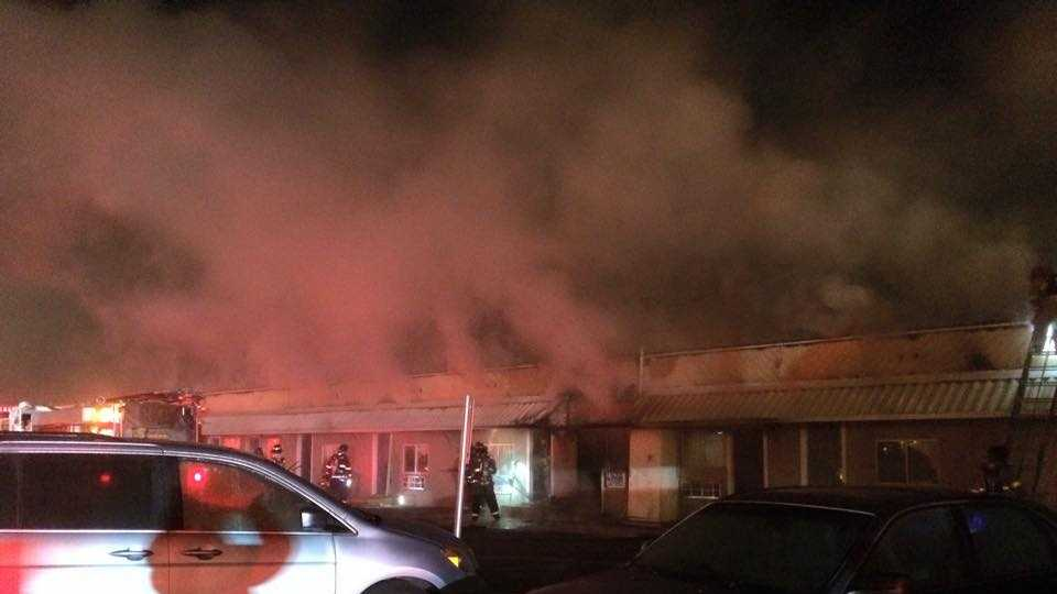 A person was killed in an early Saturday morning fire at a Modesto hotel. The Modesto Fire Department said one unit was destroyed and 10 to 12 other units were damaged.