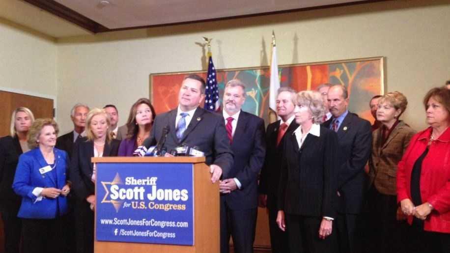 Scott Jones running for U.S. Congress (Nov. 16, 2015)