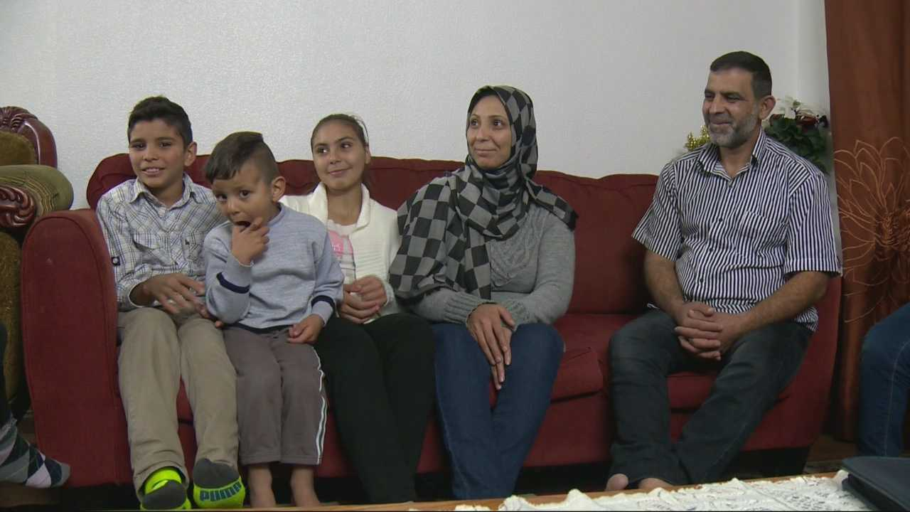 The Dawarah Family came to Sacramento 16 months ago after leaving Syria. They told KCRA 3 on Tuesday, Nov. 17, 2015, that they had to go through numerous interviews by different agencies before they were allowed to come to the U.S.
