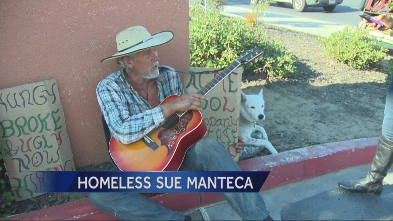 4 homeless men claim their rights have been violated in a lawsuit they filed against the city of Manteca.