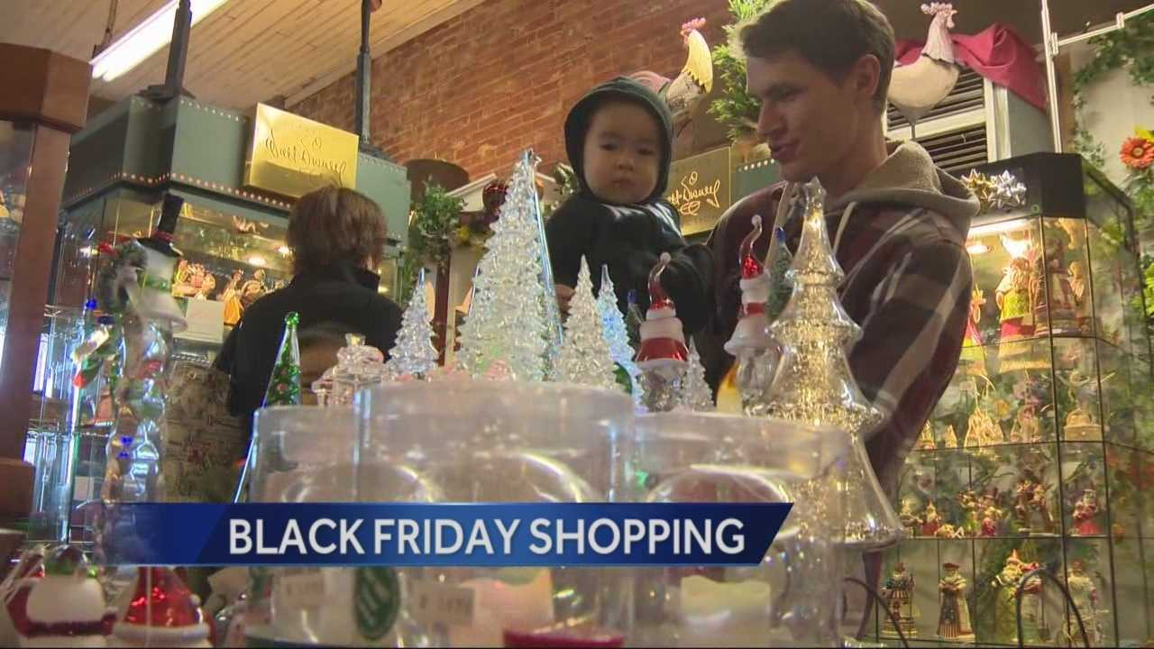 National reports say Black Friday sales are down, but locally business owners seem happy with what they're seeing.