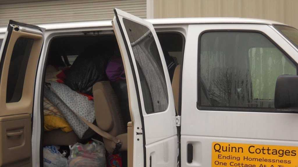 Staff members say they now only have one van to serve hundreds of people.