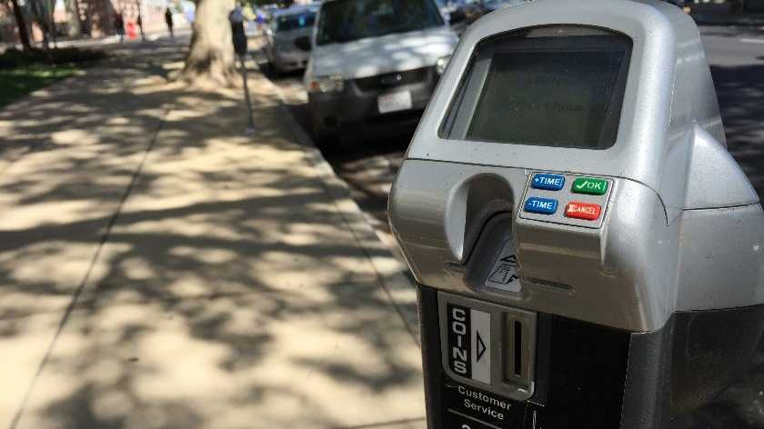 Parking meter in Sacramento