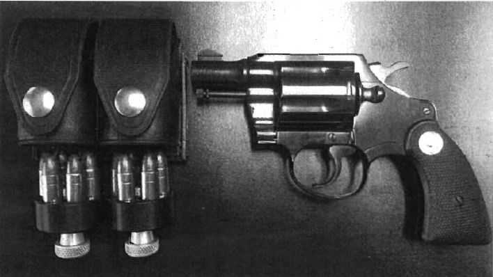 Federal prosecutors say this Colt revolver was illegal sold at a tire shop in Citrus Heights.