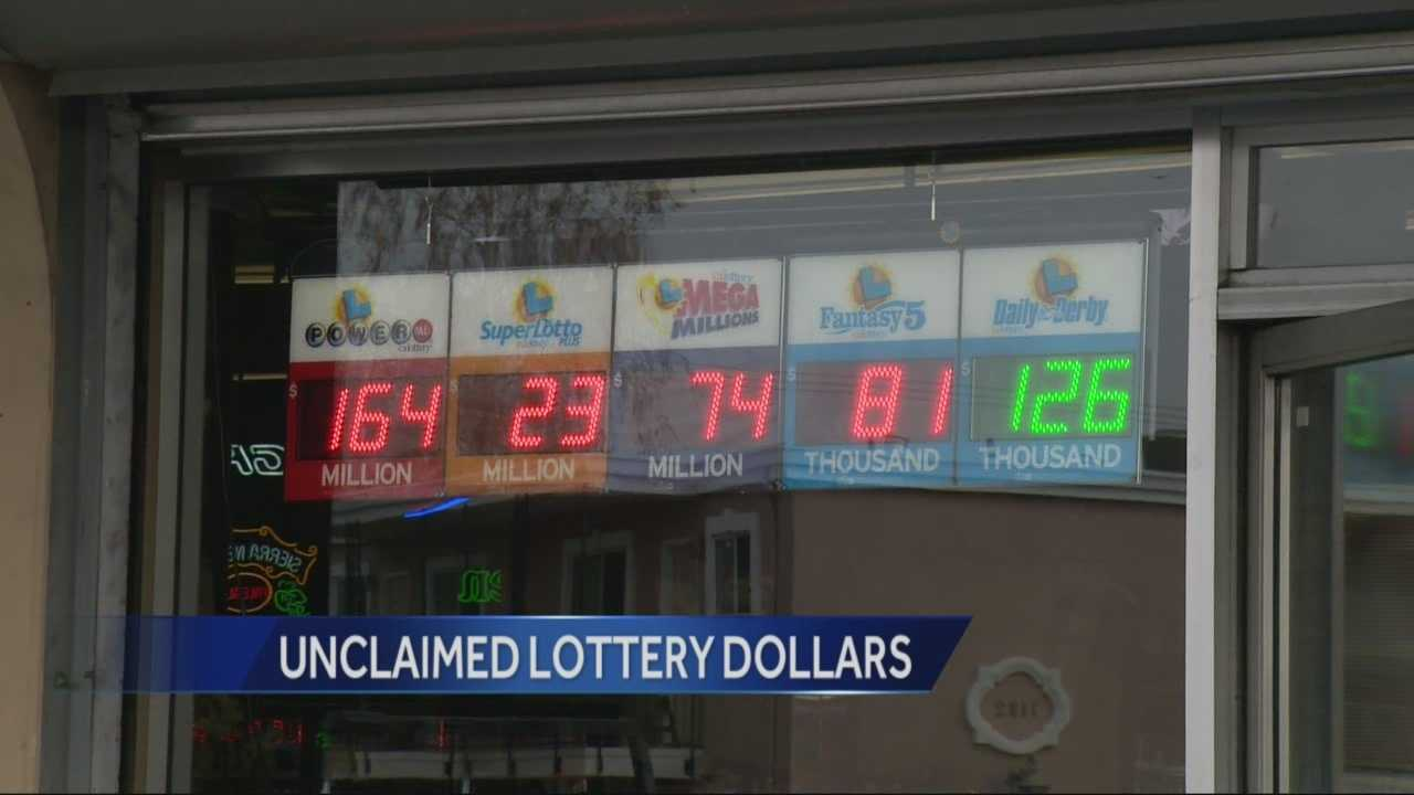 Californians who forget to check their lottery tickets and scratchers miss out in big pay outs.