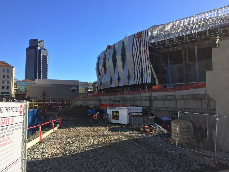 KCRA's Kellie DeMarco took an exclusive, behind-the-scene tour of the new Golden 1 Center. Take a look at the progress that's already been made on the new downtown Sacramento arena and future home of the Sacramento Kings.