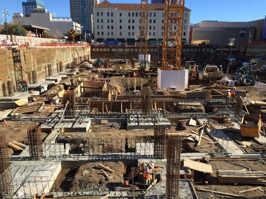A hotel and shops will be part of the Golden 1 Center's Downtown Commons.
