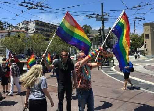 Thousands cheered in the streets of San Francisco's Castro District in June after the U.S. Supreme Court's ruling in favor of legalizing same-sex marriage.