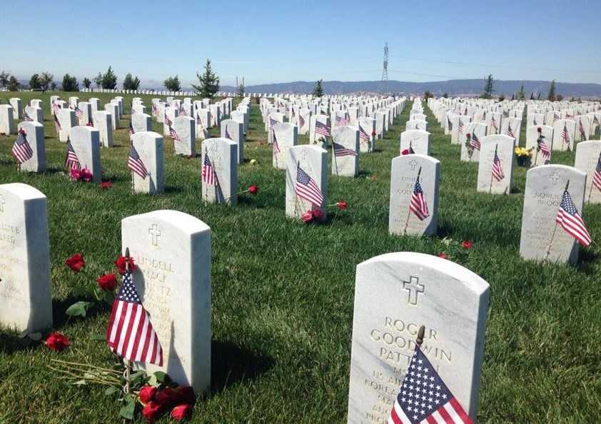 On Memorial Day, communities across Northern California remembered those who paid the ultimate sacrifice fighting for our freedom. This cemetery in Dixon placed flags next to every tombstone.
