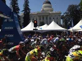 The 2015 Amgen Tour of California in May brought out large crowds to Northern California as the race took riders along courses in the Sierra, from Folsom to the state Capitol and into Lodi.