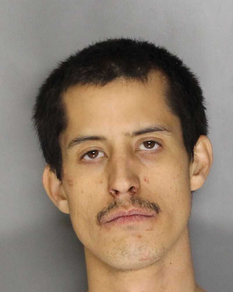 Justin Anthony Jesus, 28, was arrested on Monday, Dec. 21, 2015, in connection to the stabbing death of his wife, the Folsom Police Department said.