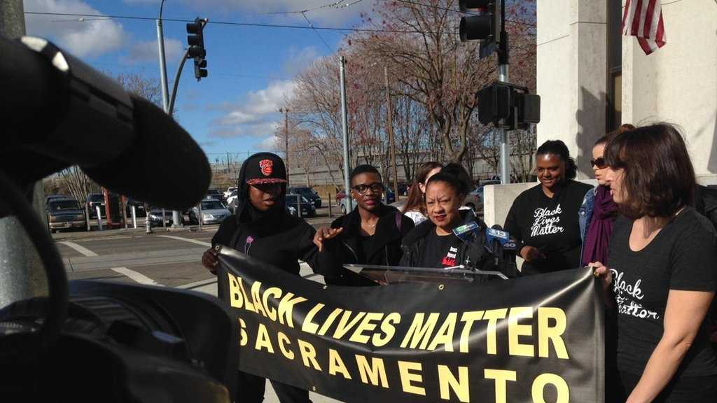 Black Lives Matter protesters demanded answers from Sacramento County Sheriff Scott Jones on Monday, Dec. 28 about the deadly officer-related shooting of an armed Carmichael man in October.