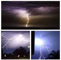 #KCRA viewers captured some pretty incredible shots of #lightning last night in the #Sacramento area. Chief meteorologist Mark Finan also snapped the top photo from #Folsom looking out toward #Lodi. Check out a full slideshow of lightning pics on KCRA.com or the #kcra3 app. #sacramentoweather #kcrawx #sacnews #weather #elkgrove #norcal #ulocal