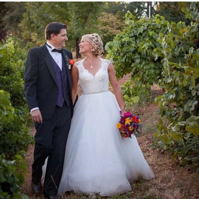 We are happy to welcome back #meteorologist Tamara Berg! As you can tell, she is now a married woman. Doesn't she look absolutely beautiful? We wish Tamara and her husband a happy life together. #wedding #marriedlife #kcra #kcra3 #beautiful #love