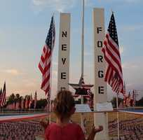Fourteen years ago today, 3,000 people lost their lives in a series of terrorist attacks against the United States of America. We remember and honor all those who lost their lives on Sept. 11, 2001. This touching photo was taken by a #ulocal user at the 9/11 memorial in #WestSacramento. // #neverforget #weremember #nyc #9112001 #thankyoufirstresponders #911 #KCRA #kcra3 #sacnews #twintowers #usa #america