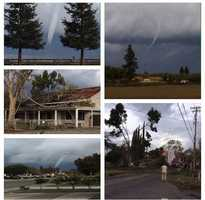 We had quite a #Sunday of wild weather in #NorCal. Rain, snow, hail, lightning and even a tornado in #StanislausCounty near #Turlock and #Denair. #KCRA3 viewers sent in some incredible photos and videos of the confirmed tornado touching down in the region. Check out #KCRA.com and the app for more photos and info. // #kcrawx #tornado #cyclone #wildweather #rain #snow #wind