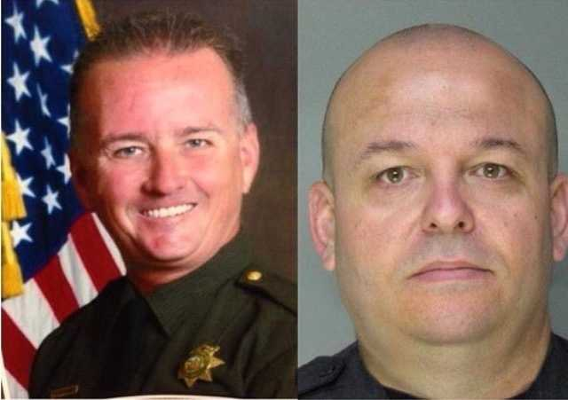 One year ago today, Placer County deputy Mike Davis and Sacramento County deputy Danny Oliver were killed in the line of duty during a crime spree spreading two counties. Once again, we thank you both for your service. #endofwatch 10.24.2014 #sacramentocounty #placercounty #sacramento #auburn #deputies #rip #lawenforcement #ultimatesacrifice #KCRA #kcra3