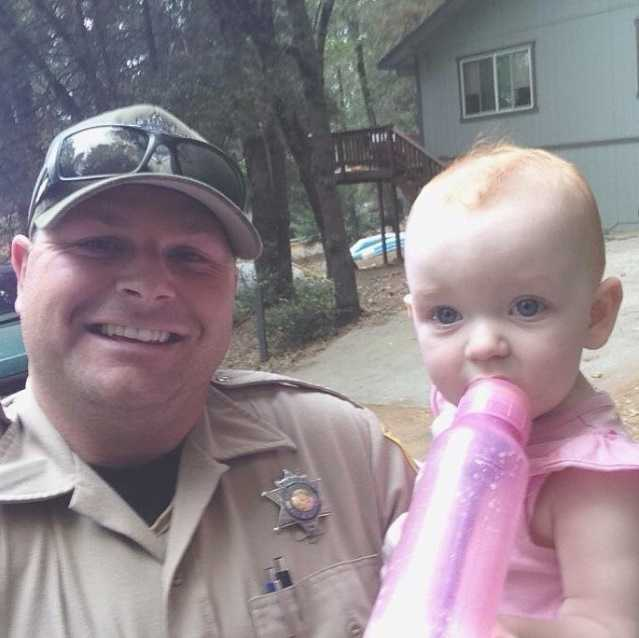 What an amazing story! Timothy Little, a California Department of Fish and Wildlife warden, drove his vehicle through a raging fire to save a baby and her grandmother just minutes before the #ValleyFire engulfed their home in the town of Cobb. Great work, Timothy! Photo: CA Dept. of Fish and Wildlife // #lakecounty #cawildfires #NorCal #KCRA #KCRA3 #cafishandwildlife #thankyou