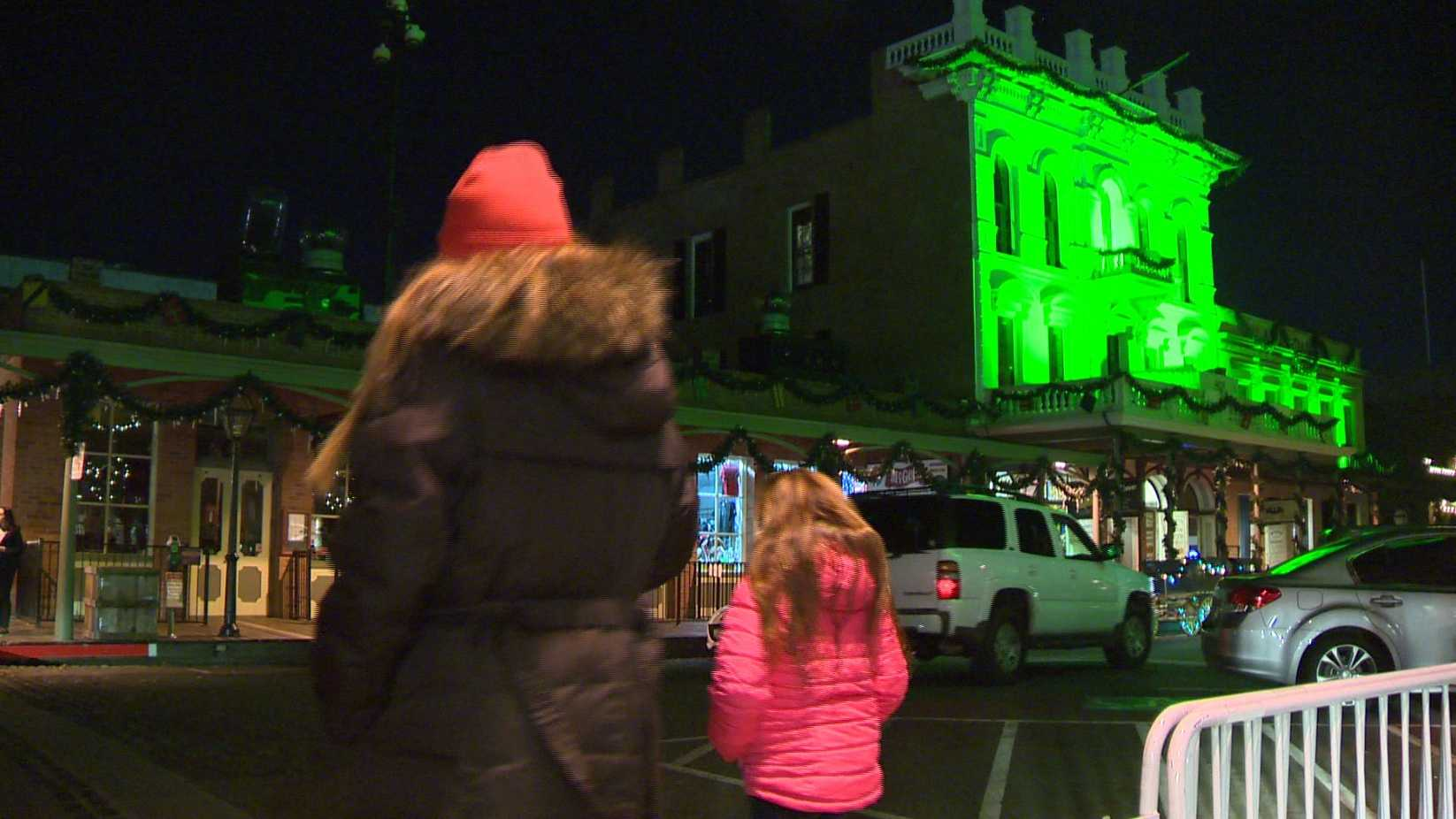 People walk through Old Sacramento on Wednesday, Dec. 30, 2015. Sacramento police are increasing security in the area ahead of the New Year's Eve celebrations.