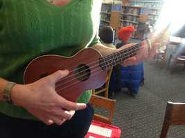 People can borrow a ukulele from the Sacramento Library of Things.