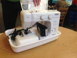 People can check out sewing machines from the Sacramento Library of Things.