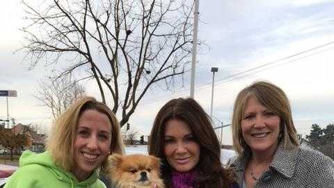 Reality-television star Lisa Vanderpump adopted Harrison on Saturday, a Pomeranian that was a shelter dog at the Sacramento SPCA. (Jan. 2, 2016)