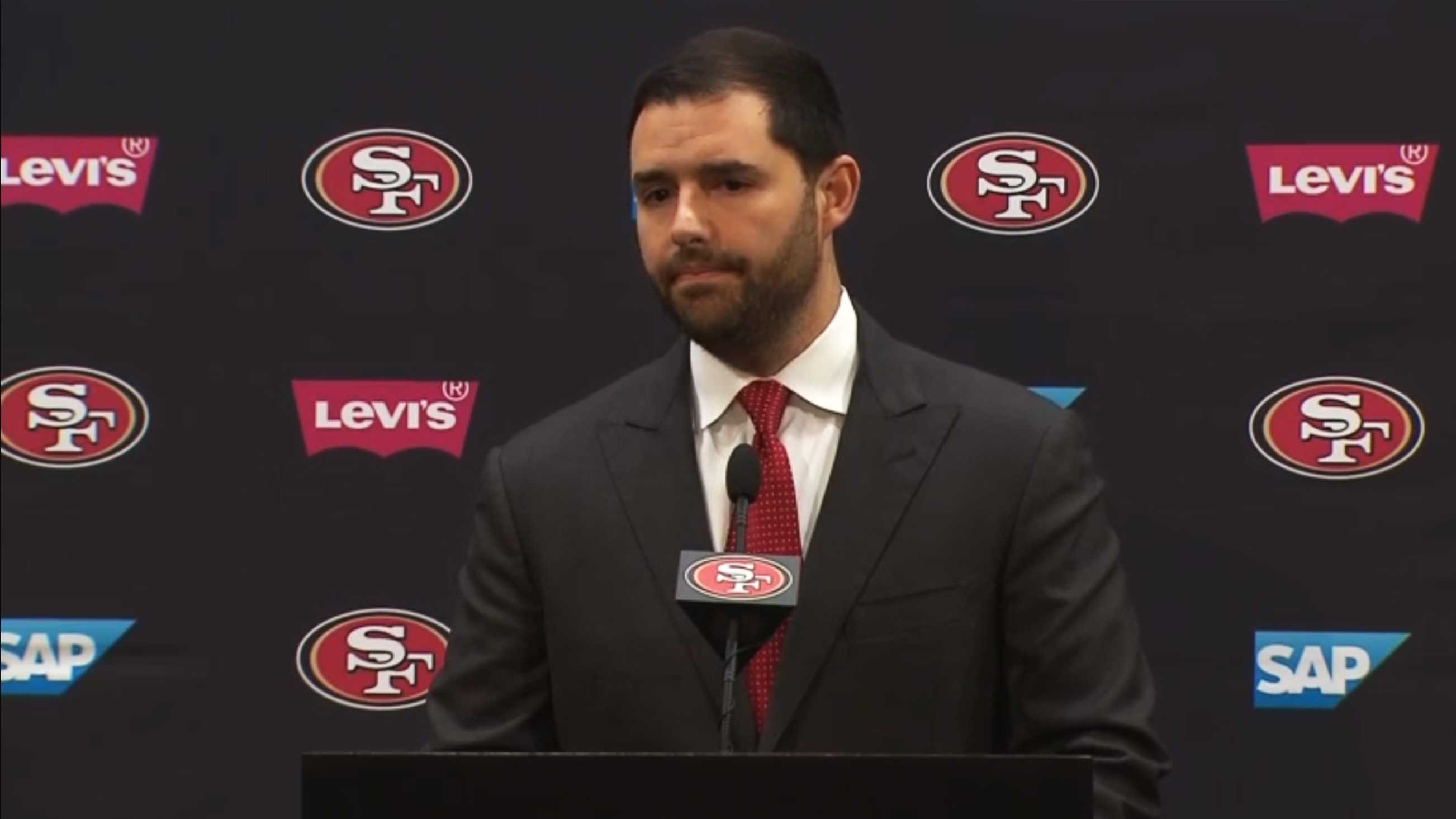 Team owner Jed York