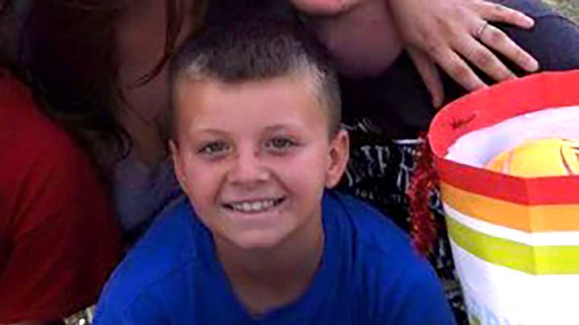 Tyler Trammell-Huston, 9, was died Sunday, Jan. 3, 2016, after being attacked by three dogs, his aunt Laura Badeker said.