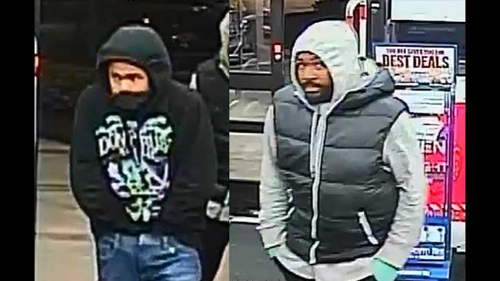 Authorities are searching for two men in connection to a robbery at a Natomas Walgreens on Dec. 29, 2015.