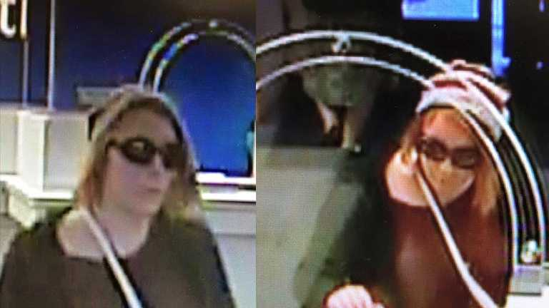 Stockton police are searching for a woman accused of robbing a bank on Thursday.