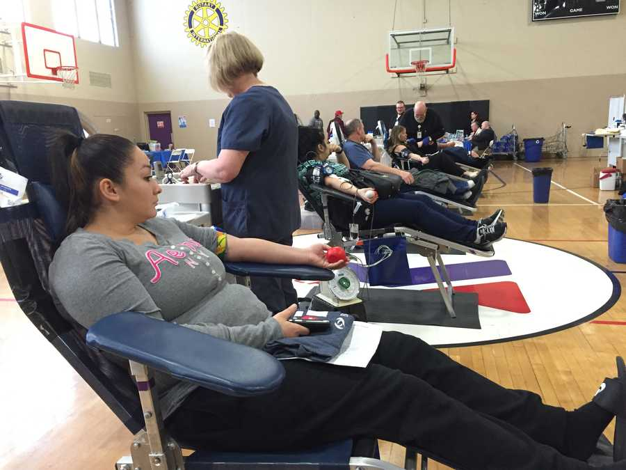 During the 2016 Blood Drive of Life Friday, Jan. 8, 2016, 662 people took time out of their day to donate blood. That's 200 more people than in 2015! KCRA and Blood Source teamed up to host the blood drive at the Sacramento YMCA. Check out photos from the event: