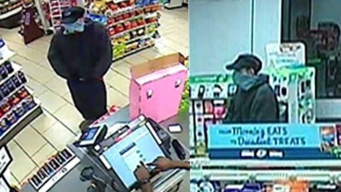 Police searching for man who robbed a Rocklin convenience store Monday.