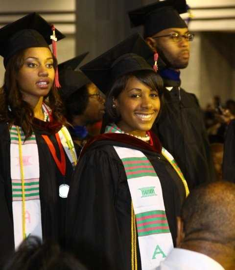 5.) In 2010, I graduated magna cum laude from Clark Atlanta University with a degree in Mass Media Arts.