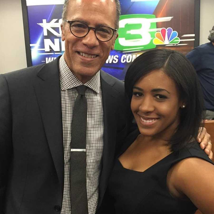 "25.) Career goals: Becoming a national correspondent for NBC's ""Nightly News."" When Lester Holt retires, maybe he'll let me have his job, too!"