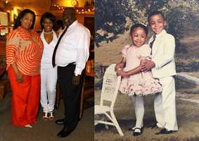 1.) I was born and raised in Atlanta. Here's a picture of me with my mom and dad. And of course, I had to include this photo of my older brother and me waaaay back in the day (Mom was obsessed with dressing me in lace).
