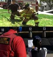 17.) I've been a Providence firefighter and a CHP officer for a day. Both experiences added a greater level of appreciation for the professions.