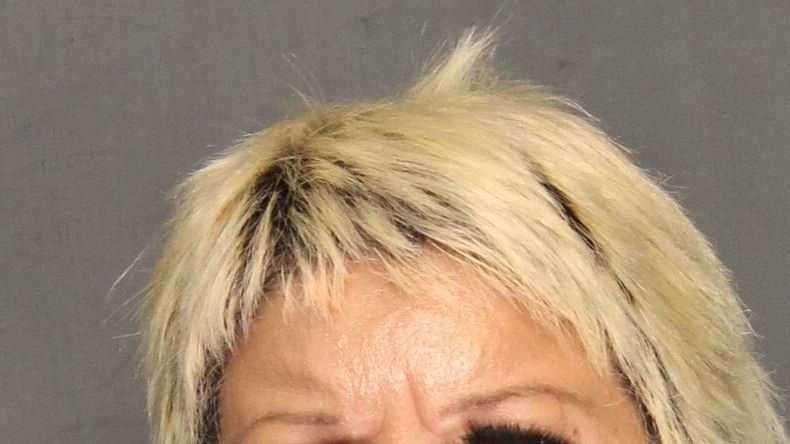 Karen Marie Escobar, 50, of Hayward, was arrested Tuesday on felony charges of threatening school employees, officers said.