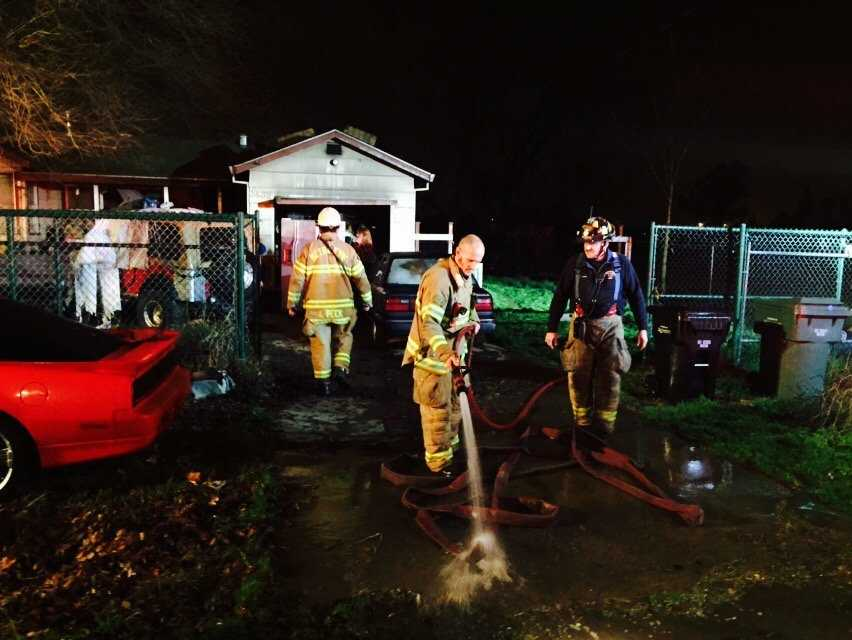 Sacramento Metro Firefighters saved a homeowner and her 14 dogs, cats and birds from a fire that broke out Thursday morning at a North Highlands home.