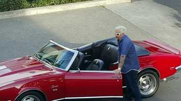 Another place Fieri stopped in Modesto was the Food Fix Truck on Ninth Street.