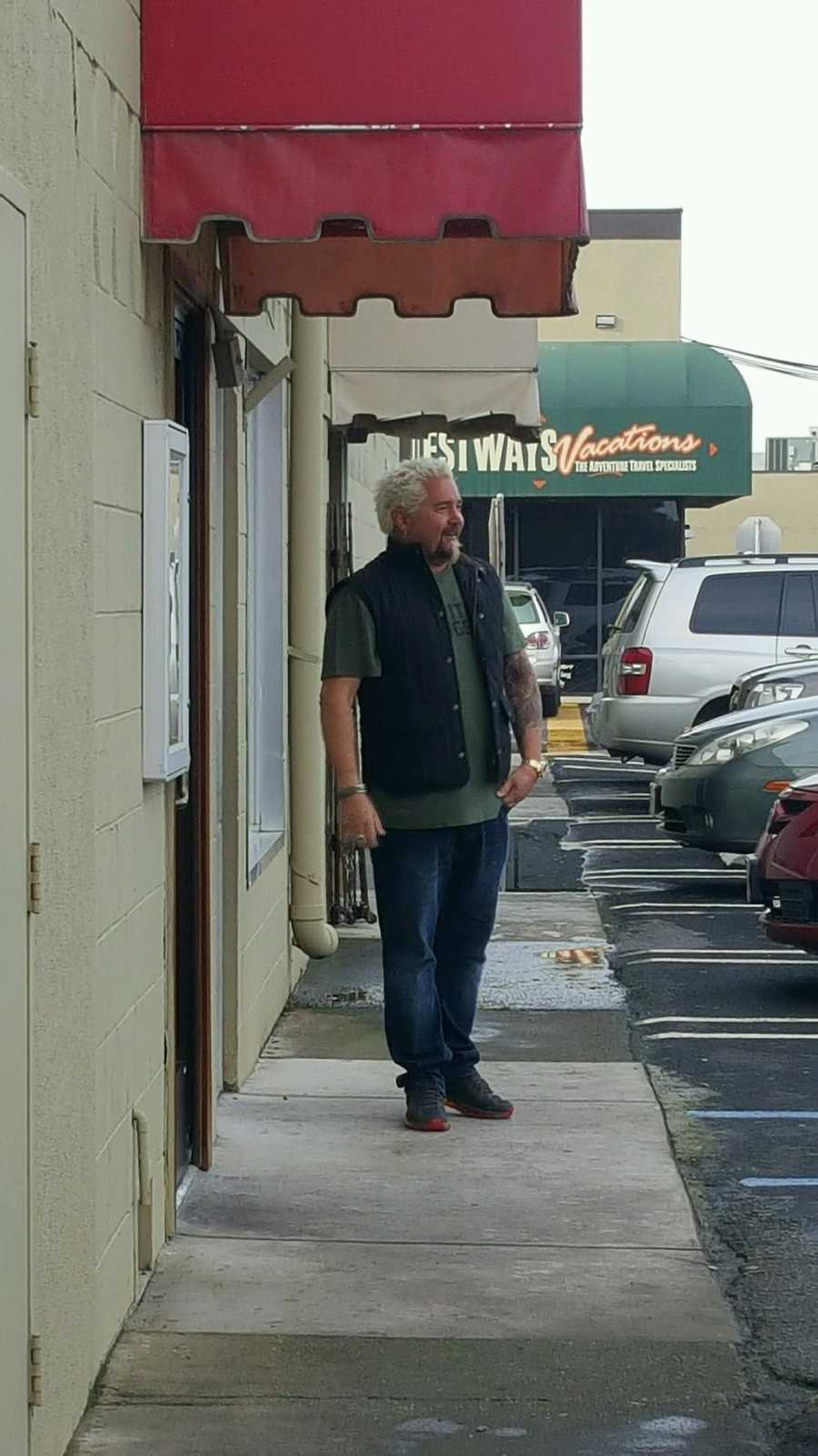 "Modesto residents saw camera crews around Modesto shooting the Food Network star's 24th season of ""Diners, Drive-Ins and Dives."""