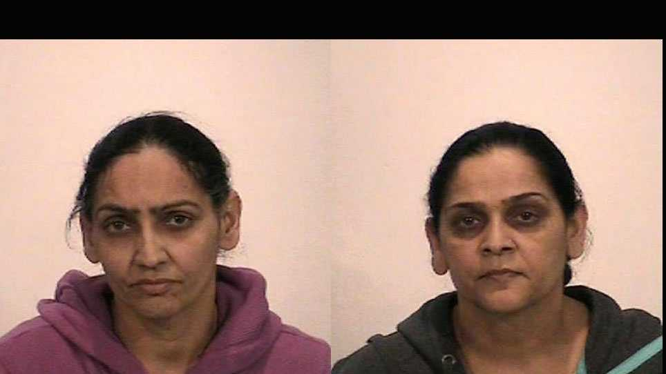 Angit Kaur Bagri (left)&#x3B; Manjit Kaur Johal (right)