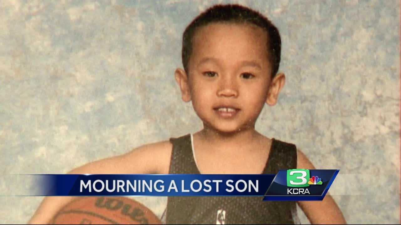 The father of a 12-year-old boy who collapsed and died after basketball practice spoke to KCRA 3's Natalie Brunell on Saturday.