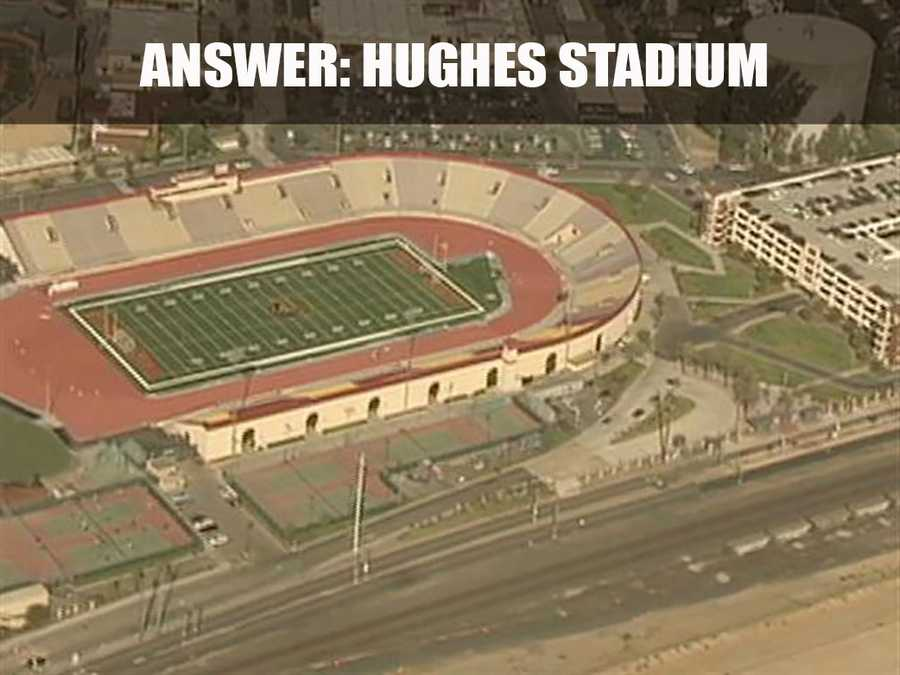 This is Charles C. Hughes Stadium, or Hughes Stadium, located on 3835 Freeport Boulevard. It is located on the Sacramento City College and it first opened in 1928. (Source: http://www.scc.losrios.edu/)