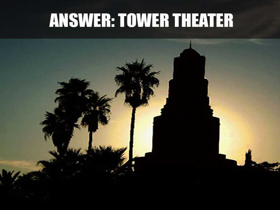 This is Tower Theater, located on 2508 Land Park Drive. Opened in 1938, Tower Theater is Sacramento's oldest remaining, continuously running picture palace. (Source: http://www.Sacramento365.com/)