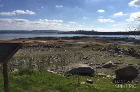 View from Beals Point of Folsom Lake on Jan. 26, 2016.