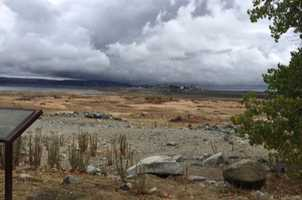 View from Beals Point of Folsom Lake on Nov. 2, 2015.