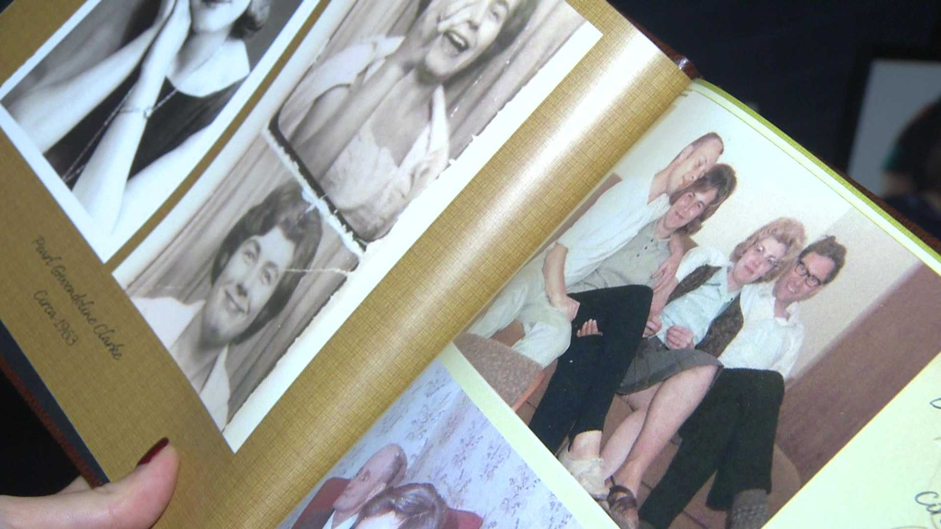 Family photos show Pearl Denison.