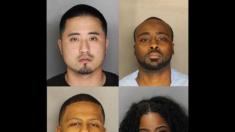 Top: Chris Pak and Mark Oliver&#x3B; Bottom: Brandon Claypool and Shaniece Williams