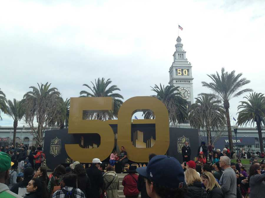 Much of the festivities and exhibits were centered in Justin Herman Plaza on the Embarcadero.